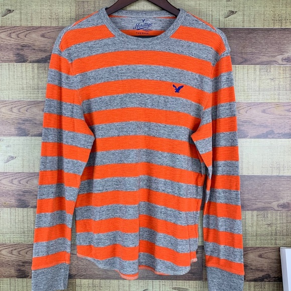 American Eagle Outfitters Heritage thermal LS top